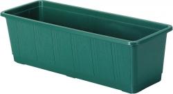 Balkonkasten, Pflanzkübel - Kunststoff grün