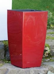 Emsa Pflanzkübel Säule Casa rubin rot brillant
