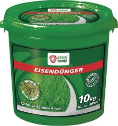 GREEN TOWER Eisendünger im 10 kg Eimer
