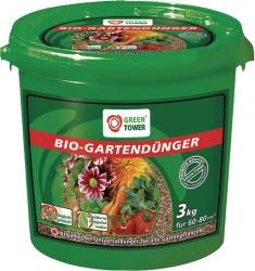 GREEN TOWER Garten Dünger BIO 3 Kg