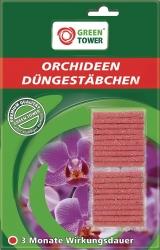 GREEN TOWER Orchideen-Düngerstäbchen