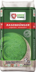 GREEN TOWER Rasendünger im 5 Kg Beutel