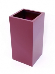 LEICHTSIN Box - Blumentopf, Pflanzkübel rot glänzend