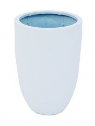 Leichtsin Cup - Blumetopf, Pflanztopf weiß